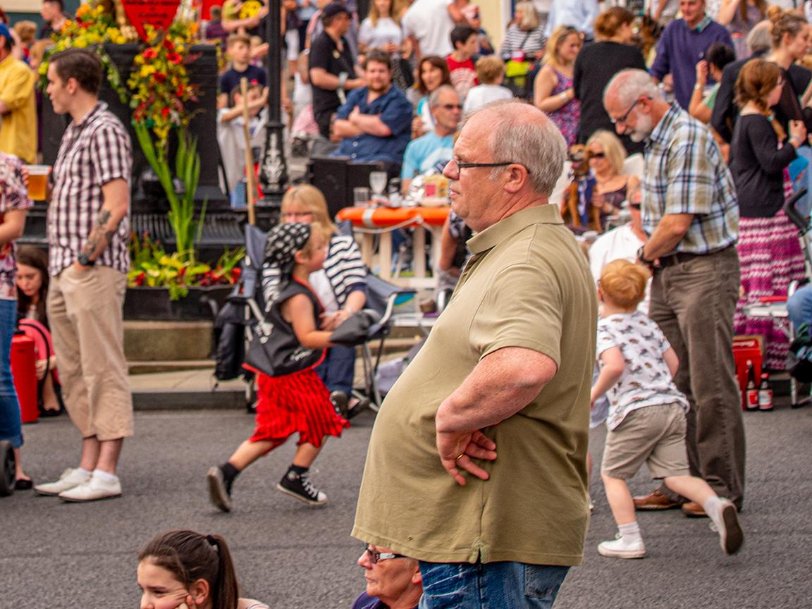Caistor Street Dancing © Stewart Wall,2014